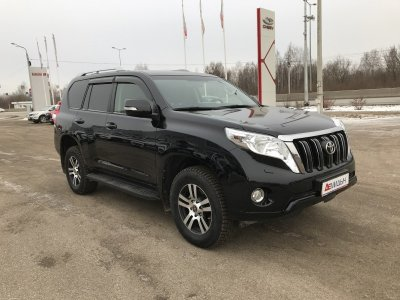 Toyota Land Cruiser Prado 150 2015 г., 2.8л., Автомат,